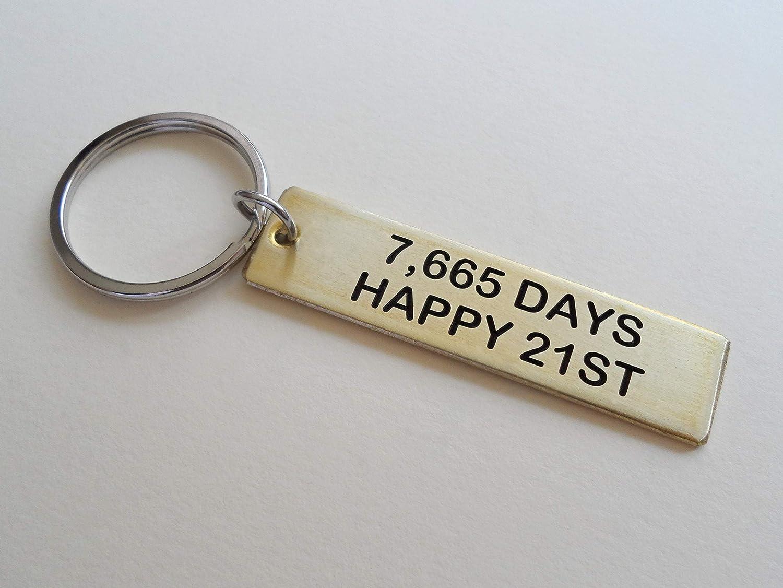 Personalized Engraved Keychain Custom Engraved Brass Keychain Anniversary Gift Keychain