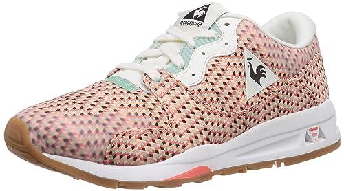 Le Coq Sportif LCS R 1400 W Jacquard - Zapatillas para Mujer, Color White, Talla 40: Amazon.es: Zapatos y complementos