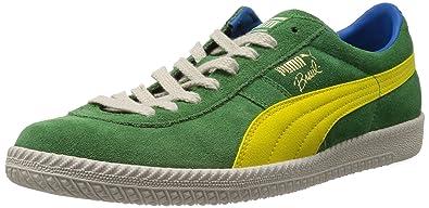 Puma Brasil Football Vintage Herren Grün Turnschuhe Schuhe