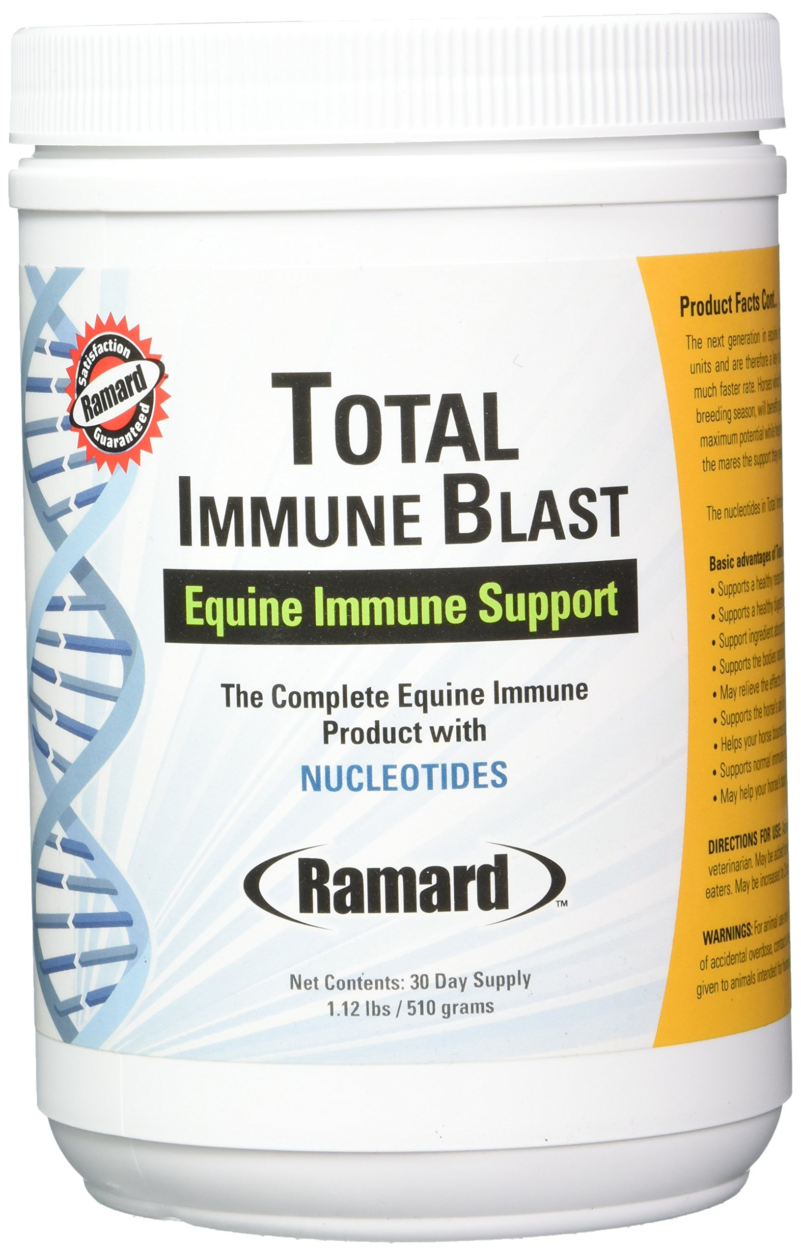 Ramard 079041 Total Immune Blast Supplement for Horses, 1.12 lb/30 Day by Ramard