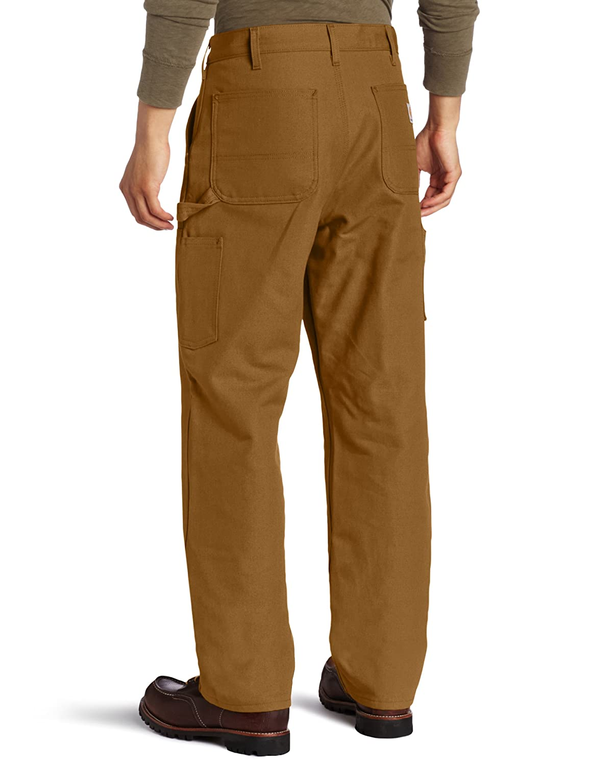 8d4fecb5 Carhartt Men's Double Front Dungaree Flannel Lined: Amazon.ca: Clothing &  Accessories