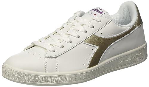 Diadora Game P, Sneaker Uomo, Bianco (Bianco Bianco), 40 EU