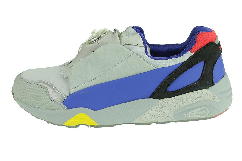 Puma Puma Puma MCQ Disc Blau Gr 45 UK 10,5 McQueen Turnschuhe Schuhe Grau 359504 01 d41a36