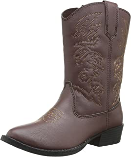 Amazon.com | Old West Youth Calfskin Cowboy Boot Pointed Toe | Boots