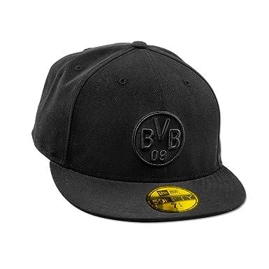 Borussia Dortmund BVB-Kappe 59FIFTY (schwarz)  Amazon.de  Bekleidung 502c53bff1