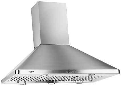 amazon com ancona an 1148 chef series 600 cfm wall mounted 36
