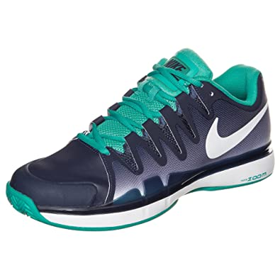 54c8c8d3780426 Nike - Zoom Vapor 9.5 Tour Clay Men s Tennis Shoes (Dark Blue Turquoise) -  EU 43 - US 9