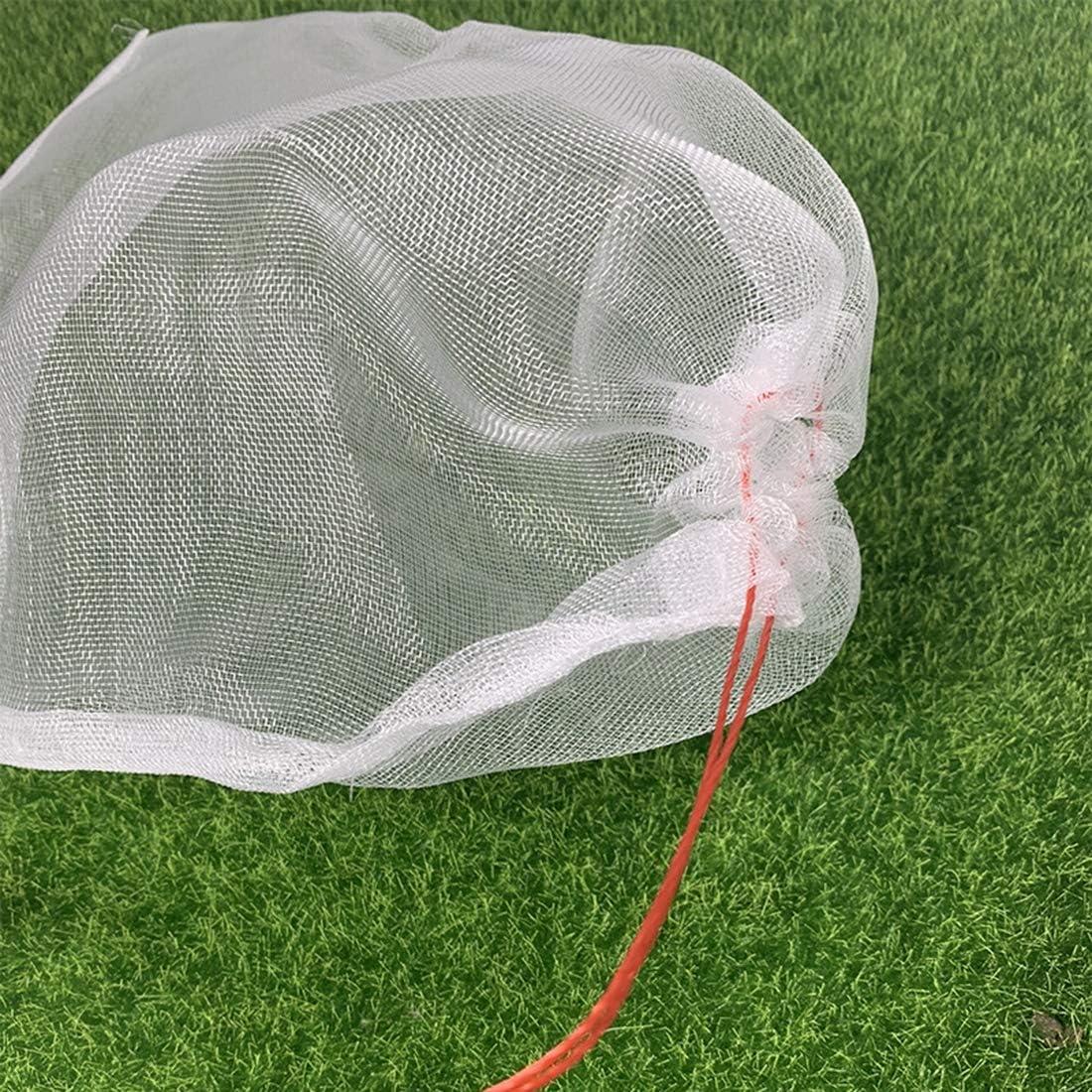 Pflanzenfrucht Schutzbeutel 50 St/ück Pflanzen Und Obstschutzbeutel Mit Kordelzug Gegen Insekt Moskito Bug Pest Vogel Gartenger/äte,30 x 20 cm