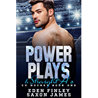 Power Plays & Straight A's (CU Hockey Book 1) (English Edition)