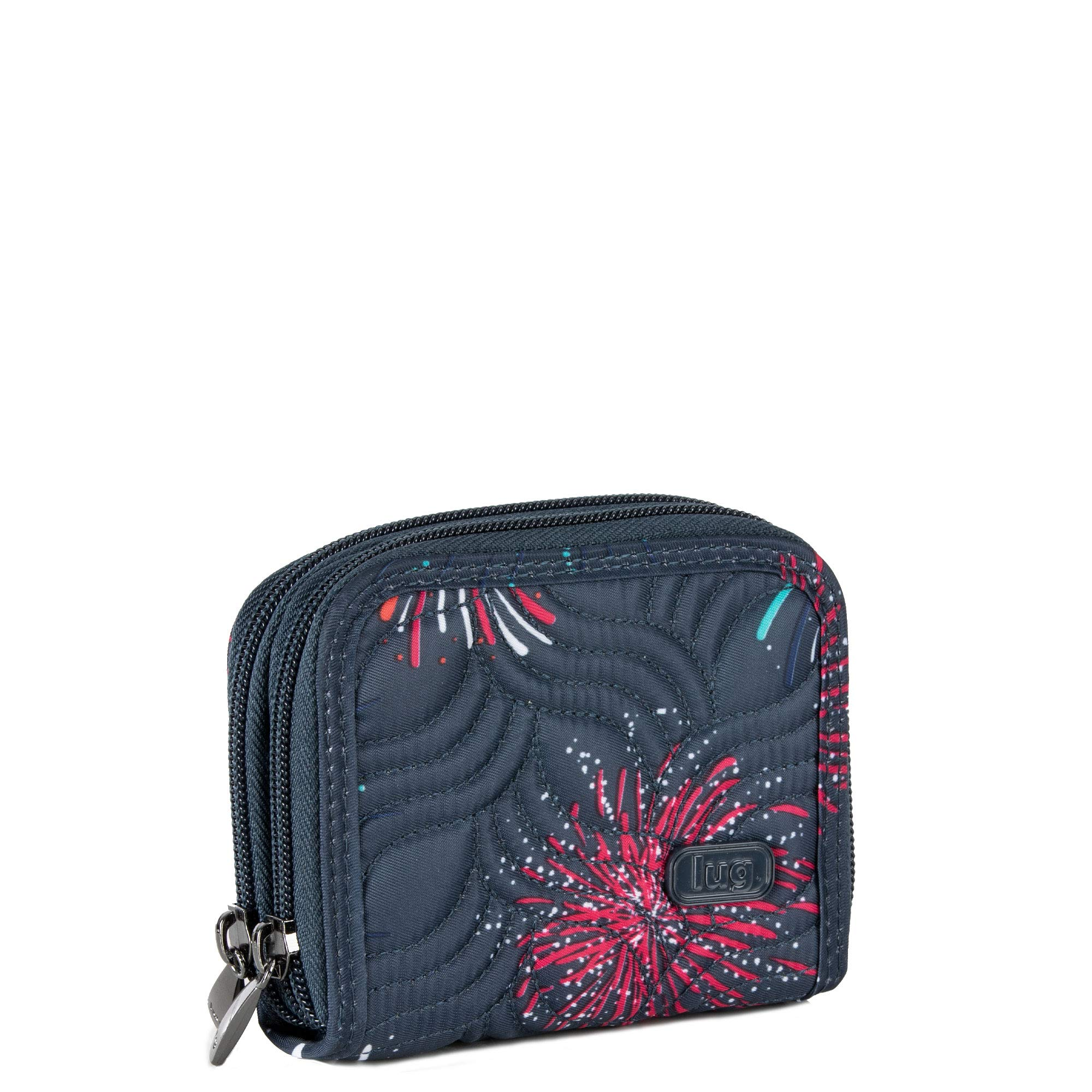 Lug Women's Splits Compact Wallet, Firework Blue