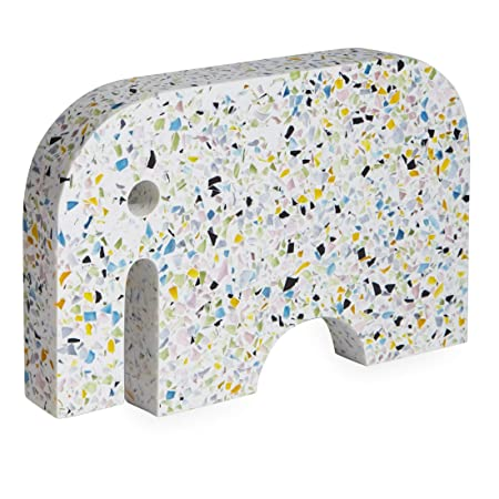 Marvelous Now House By Jonathan Adler Terrazzo Elephant Multicolored Gmtry Best Dining Table And Chair Ideas Images Gmtryco