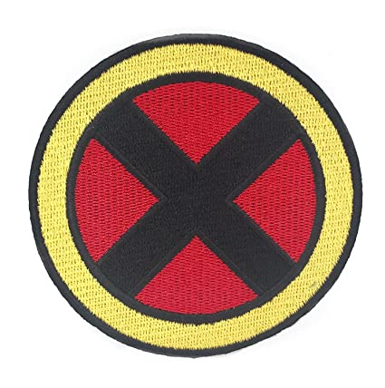 amazon com marvel x men wolverine logo iron on patch rh amazon com Wolverine Claw Logo X-Men Logo