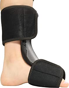 Soft Dorsal Night Splint - Breathable Design for Effective Relief from Plantar Fasciitis Pain, Heel, Arch Foot Pain, and Achilles Tendonitis - S/M