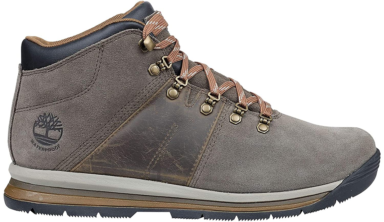 Details about Timberland Mens GT Rally Mid Leather Waterproof Boot