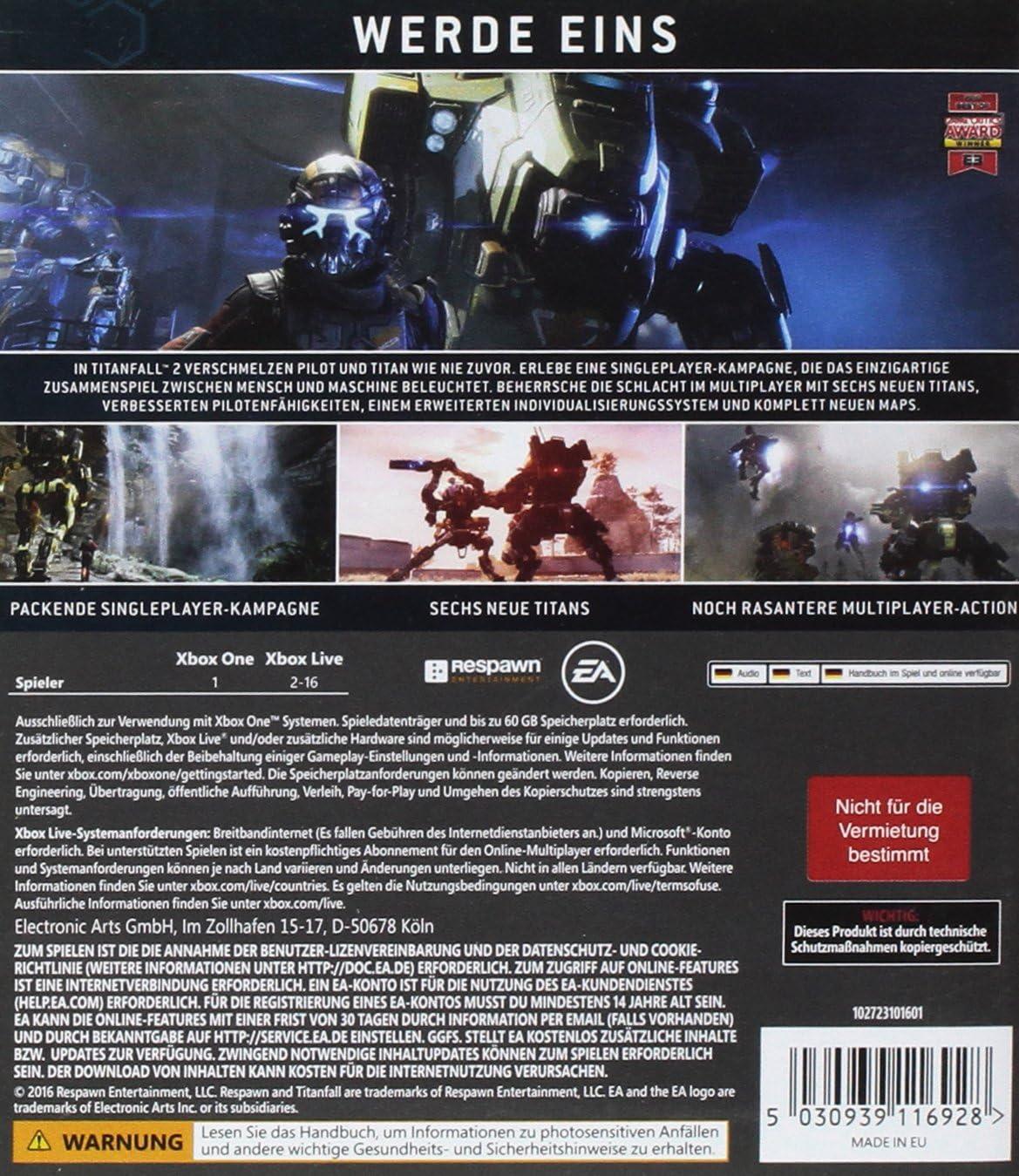 Titanfall 2 [Importación Alemana]: Amazon.es: Videojuegos