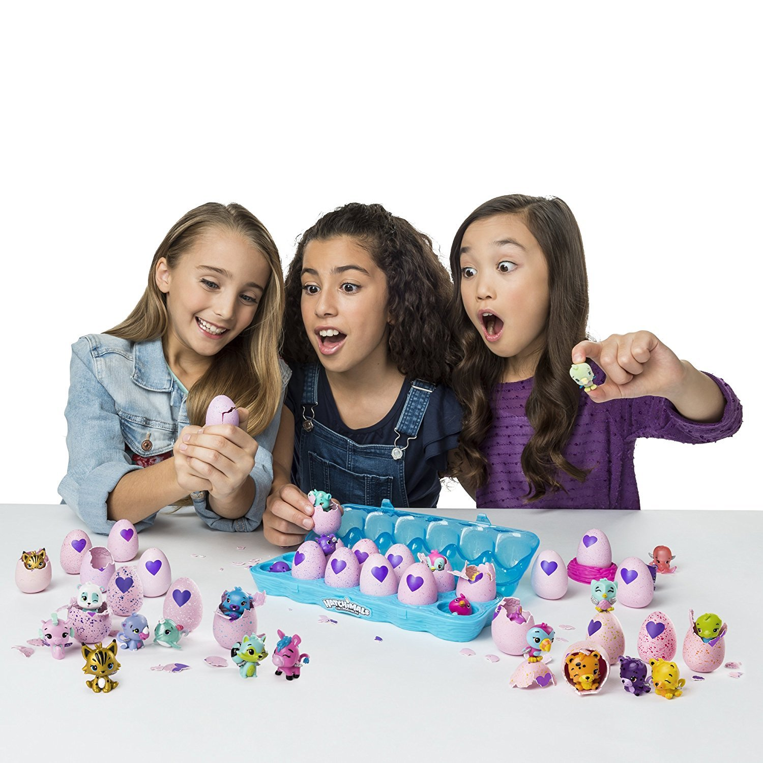 Hatchimals Colleggtibles Season 2 Gift Pack! ( Includes Egg Carton 12 Pack, 5 Pack, 2 Pack with Nest) Total of x19 by Hatchimals (Image #3)
