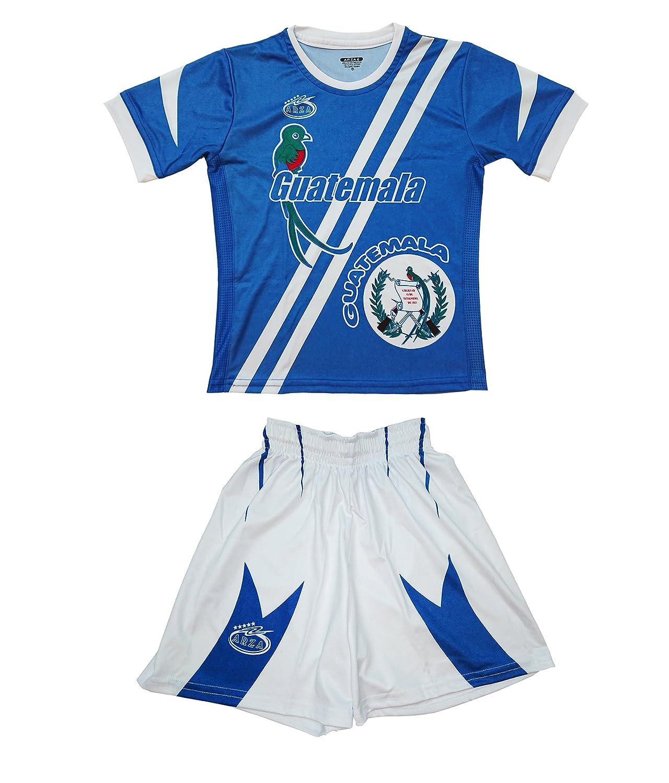 グアテマラユースSoccer Uniform Arza Exclusiveデザイン B01N0VQ10E 12 ブルー ブルー 12