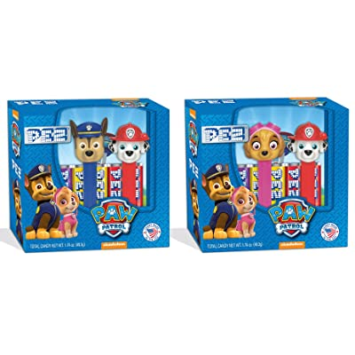 PEZ Candy Twin Pack Paw Patrol, 5.3 Ounce: Grocery & Gourmet Food