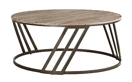 Merveilleux Ashley Furniture Signature Design   Fathenzen Casual Round Cocktail Table    Two Tone