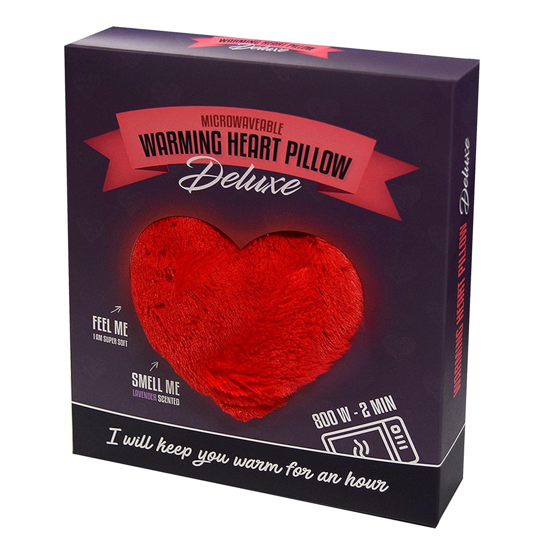 Leschi Warming pillow (for the tummy) | 36831 | Warming Heart | big | Colour: Fire HealthCenter 4260049582424