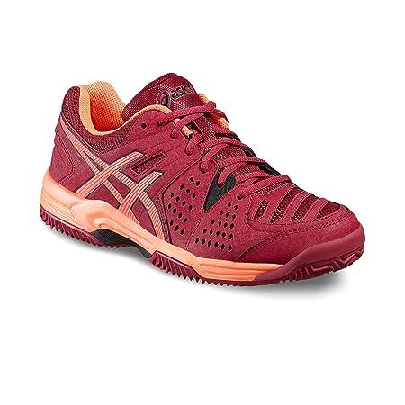 ASICS - Gel Padel Pro 3 SG, Color Rojo, Talla UK-3.5: Amazon.es: Deportes y aire libre
