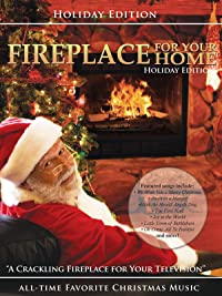fireplace for your home presents christmas music edition 2010 - Amazon Christmas Music