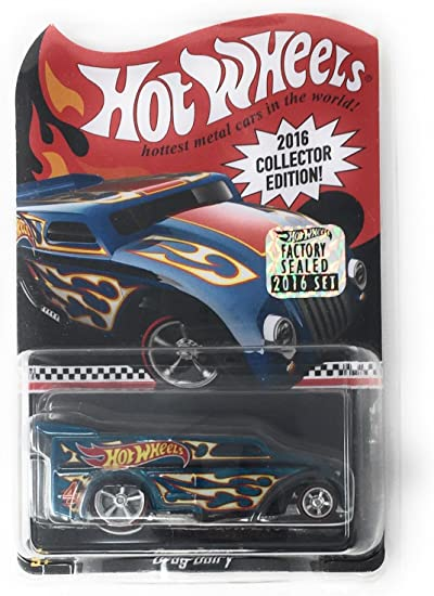 Hot Wheels Final Run Dark Blue Custom Corvette with Real Riders Sealed