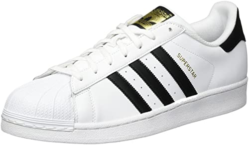 adidas Originals Mens Superstar Sneakers EUR 40 White