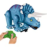 Frog Triceratops RC Inflatable, Blue