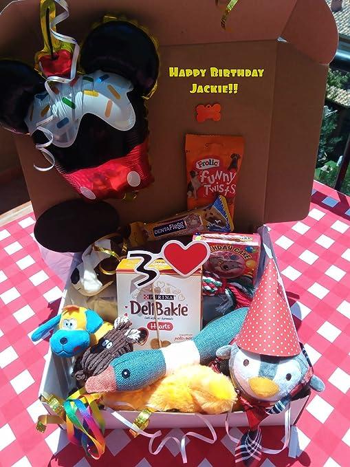 Perro Regalo Cumpleaños/fiestas para perros!: Amazon.es ...