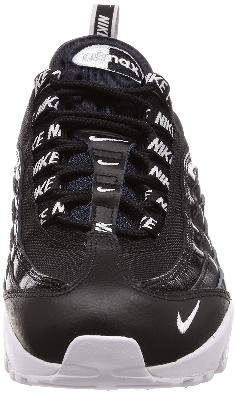 Nike Air Max 95 Premium 538416020 Color: Black Size: 7.5