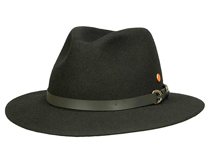 0aa52ce33ea Mayser Men s Cowboy Hat Grey Dark Grey 0-3 Months - Black - Small ...