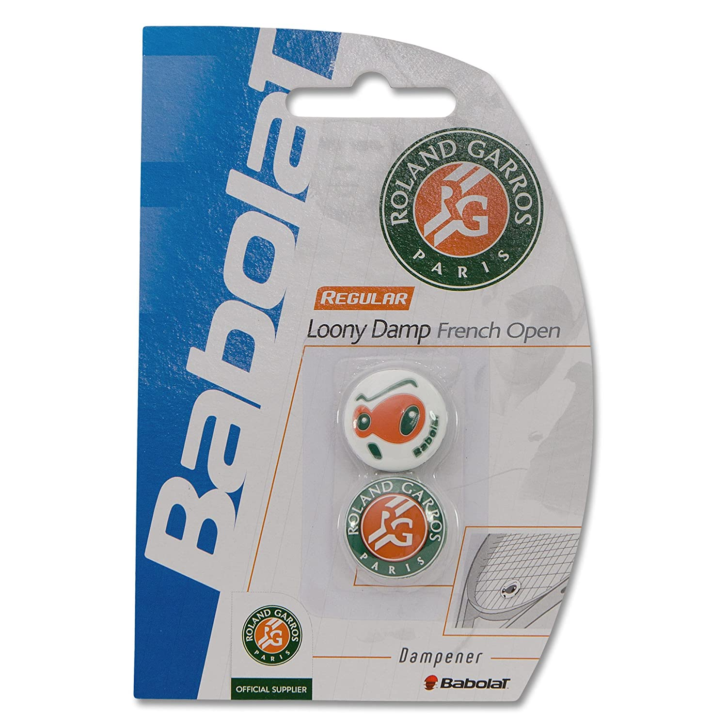 Babolat Loony Damp French Open Vibration Dampeners 2 Pack