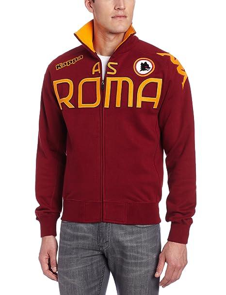 outlet store 63a8c d7698 Amazon.com: Kappa Men's AS Roma Eroi Fleece Sweatshirt, Dark ...