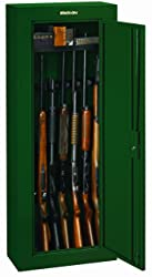 Stack On 8 Gun Security Cabinet Review GCG-908 - best gun cabinet