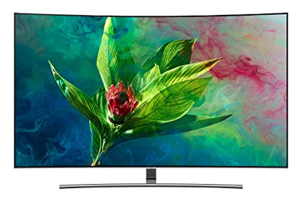 b42febffb8b Samsung 138 cm 4K UHD QLED Smart TV QA55Q8CNAK  Amazon.in  Electronics