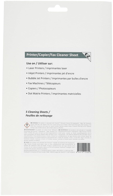 Amazon com  Waffletechnology K2 PCFF5 EZ Printer Copier Fax Cleaner Sheet   5 sheets   Electronics. Amazon com  Waffletechnology K2 PCFF5 EZ Printer Copier Fax