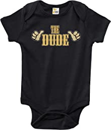 Rapunzie Baby Bodysuit - The Dude Cute Big Lebowski Baby Clothes for Infant Boys and Girls