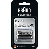 Braun Series 8 83M Cabezal de Recambio Plata para Afeitadora Eléctrica Hombre,…