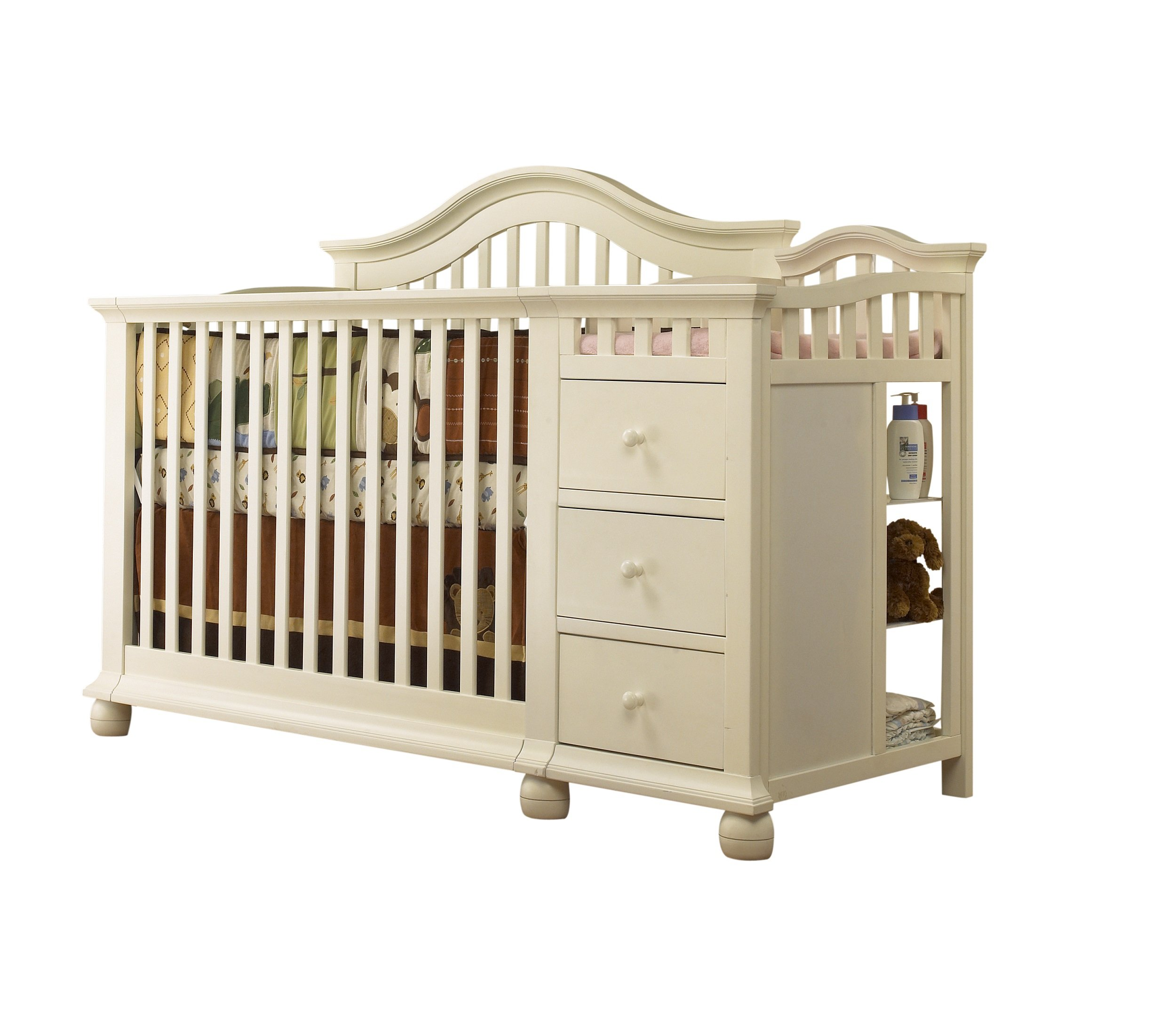 Sorelle Cape Cod Crib and Changer - French White