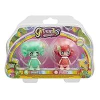 Giochi Preziosi Glimmies Rainbow Friends Blister Doppio, Shelisa e Spiria