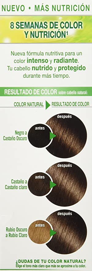 Garnier Nutrisse Coloración, Tono 50 Moka, 160 ml: Amazon.es ...
