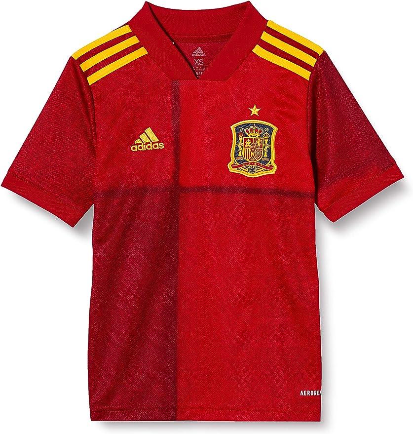 adidas Selección Española Temporada 2020/21 Camiseta Primera equipación Unisex Adulto: Amazon.es: Deportes y aire libre