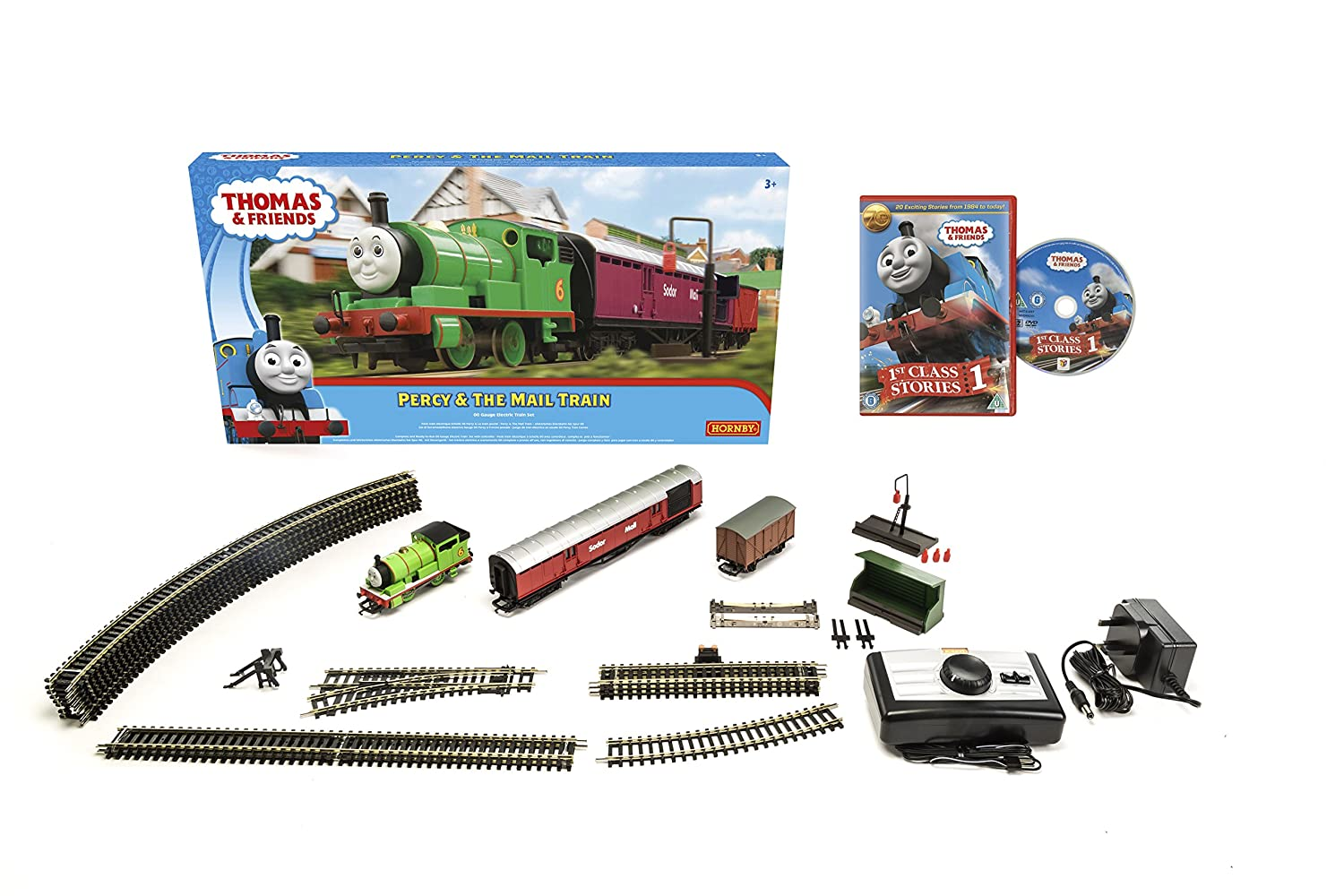 Hornby R9284 Percy and The Mail Train Set, Green