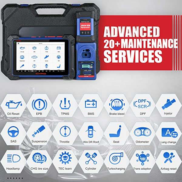 The Autel IM608 allows for both a smart mode and expert mode depending on your experience level or needs.