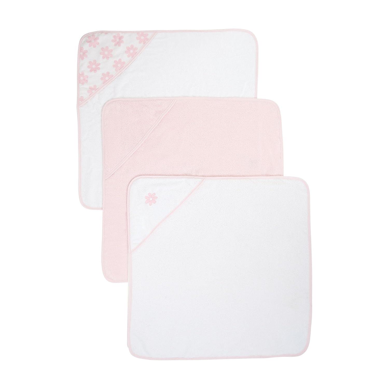 mothercare con cappuccio Asciugamani (Cuddle 'n' Dry, colore: bianco, confezione da 3) 872944