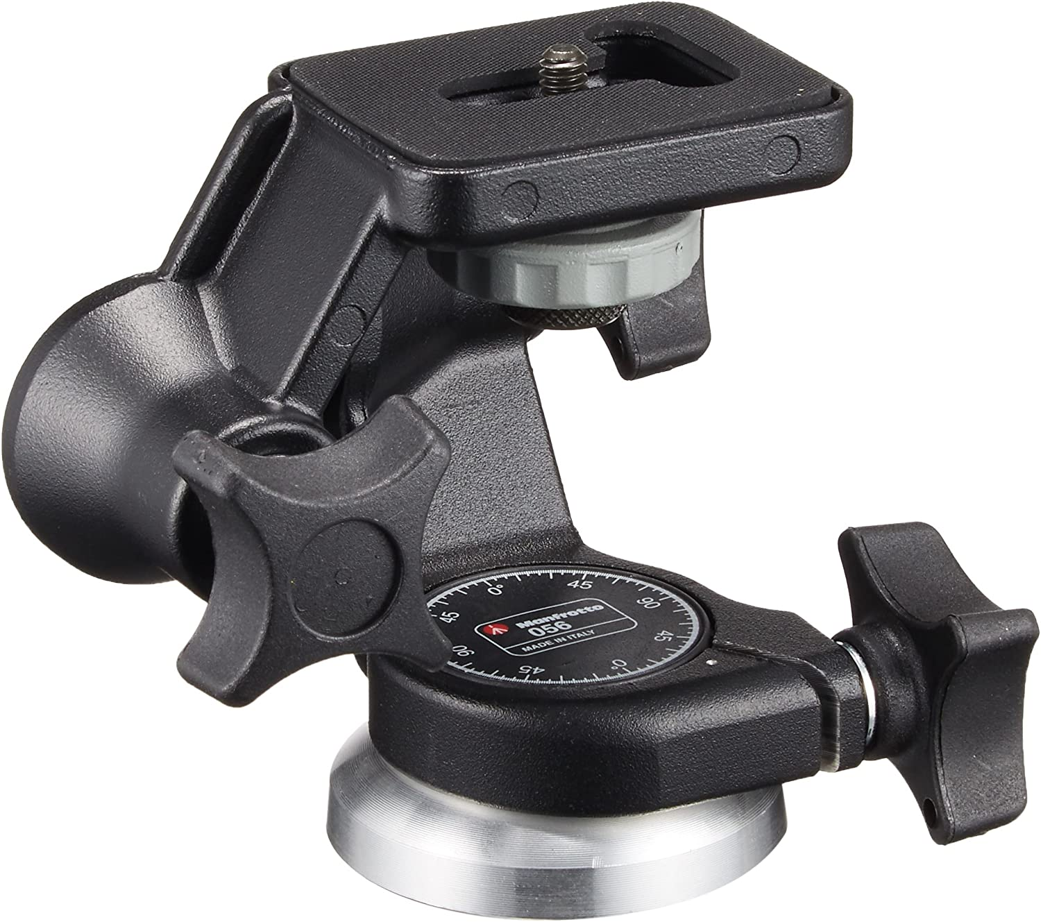 Manfrotto 3D Junior 3-Way Pan//Tilt Head ,Black 056