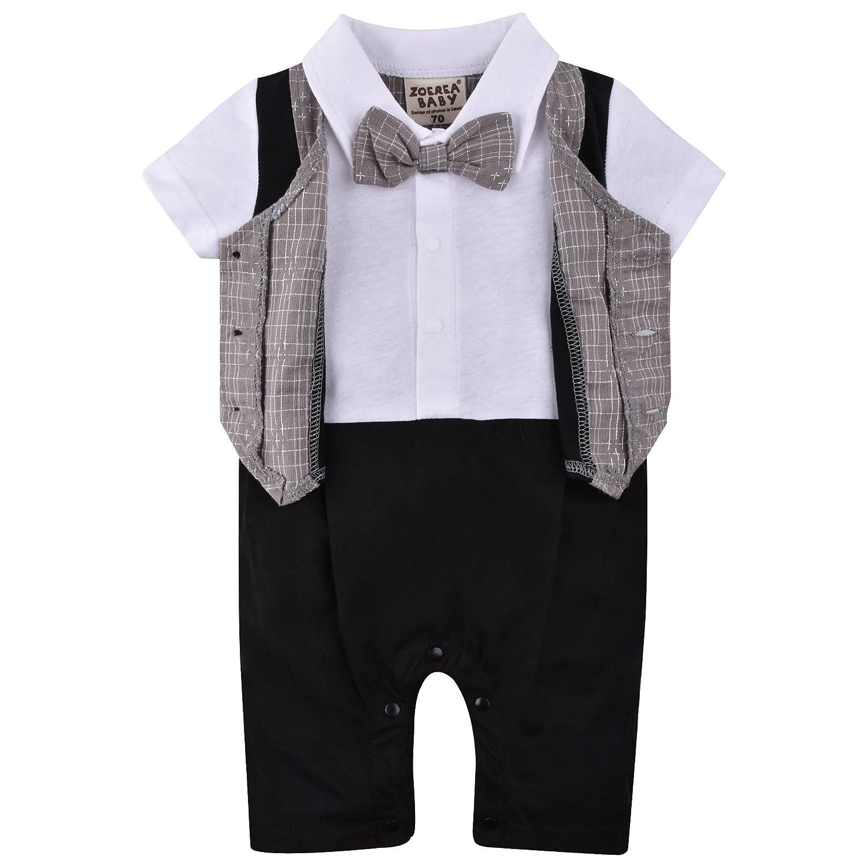 cc1774cc1 ZOEREA Baby Boys Formal Wear Wedding Suit Kids Toddler Gentleman One ...
