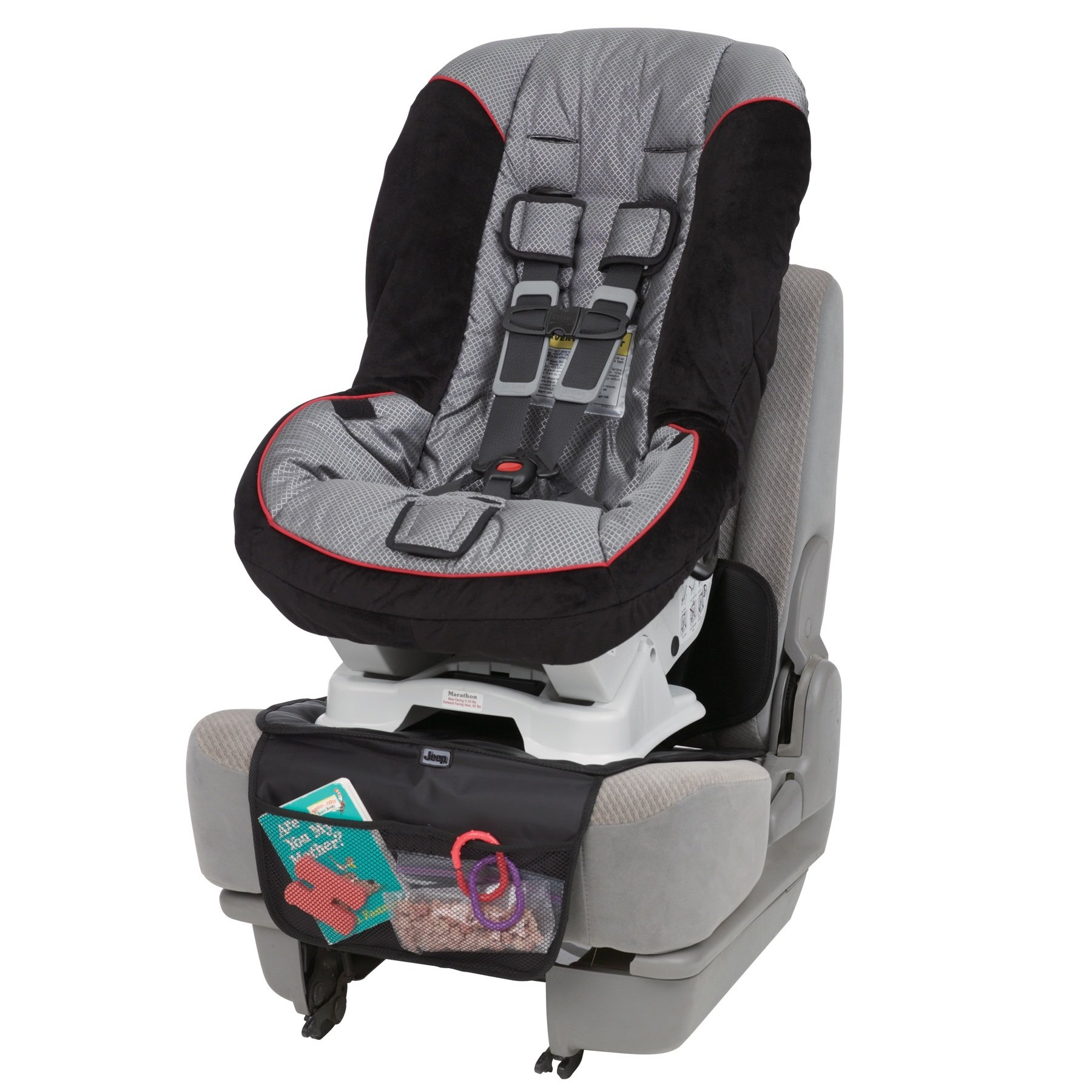 Jeep Car Seat Protector, Black by Jeep
