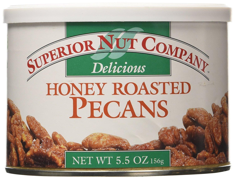 Superior Nut Company Honey Roasted Pecans 5.5 Oz (Pack of 3)